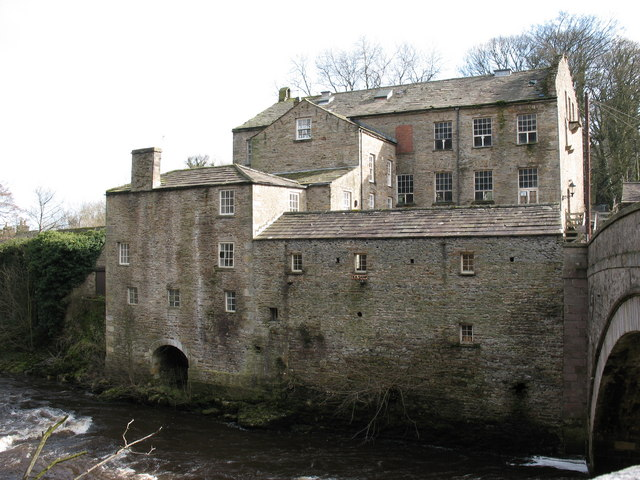 Yore Mill, Aysgarth Falls - geograph.org.uk - 355727