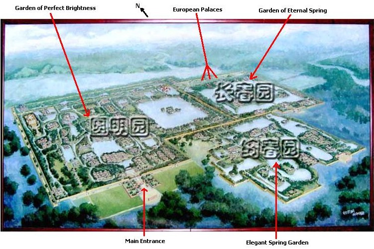 The Imperial Gardens as they once stood