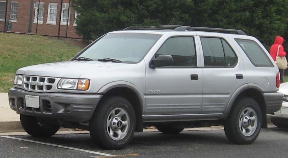 Isuzu Rodeo - Simple English Wikipedia, the free encyclopedia