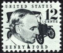 Henry Ford postage stamp