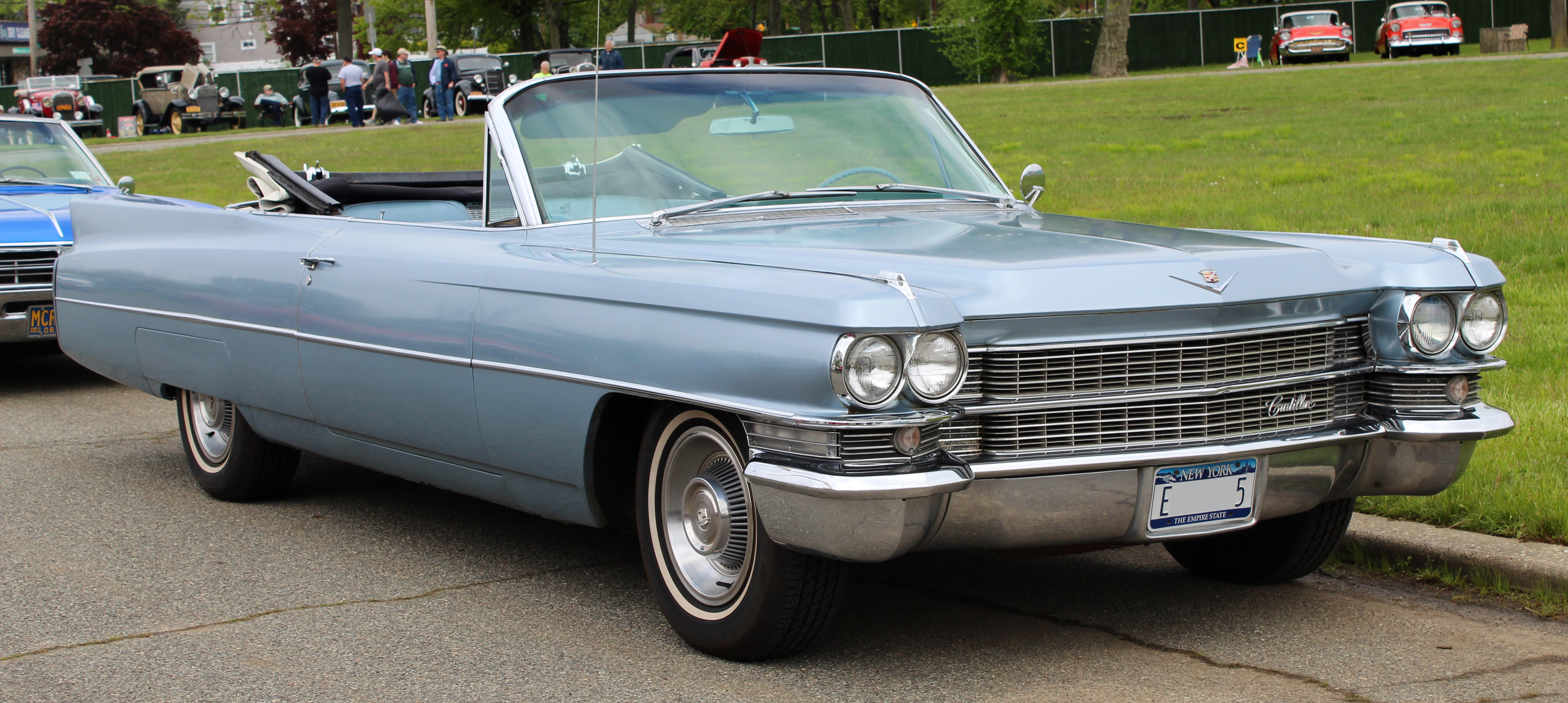 New Cadillac Eldorado >> File 1963 Cadillac Eldorado Convertible Front 5 19 19 Jpg