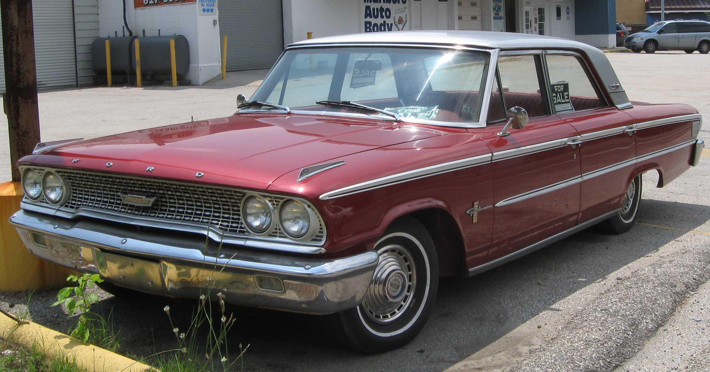 Ford Galaxie Parts Car
