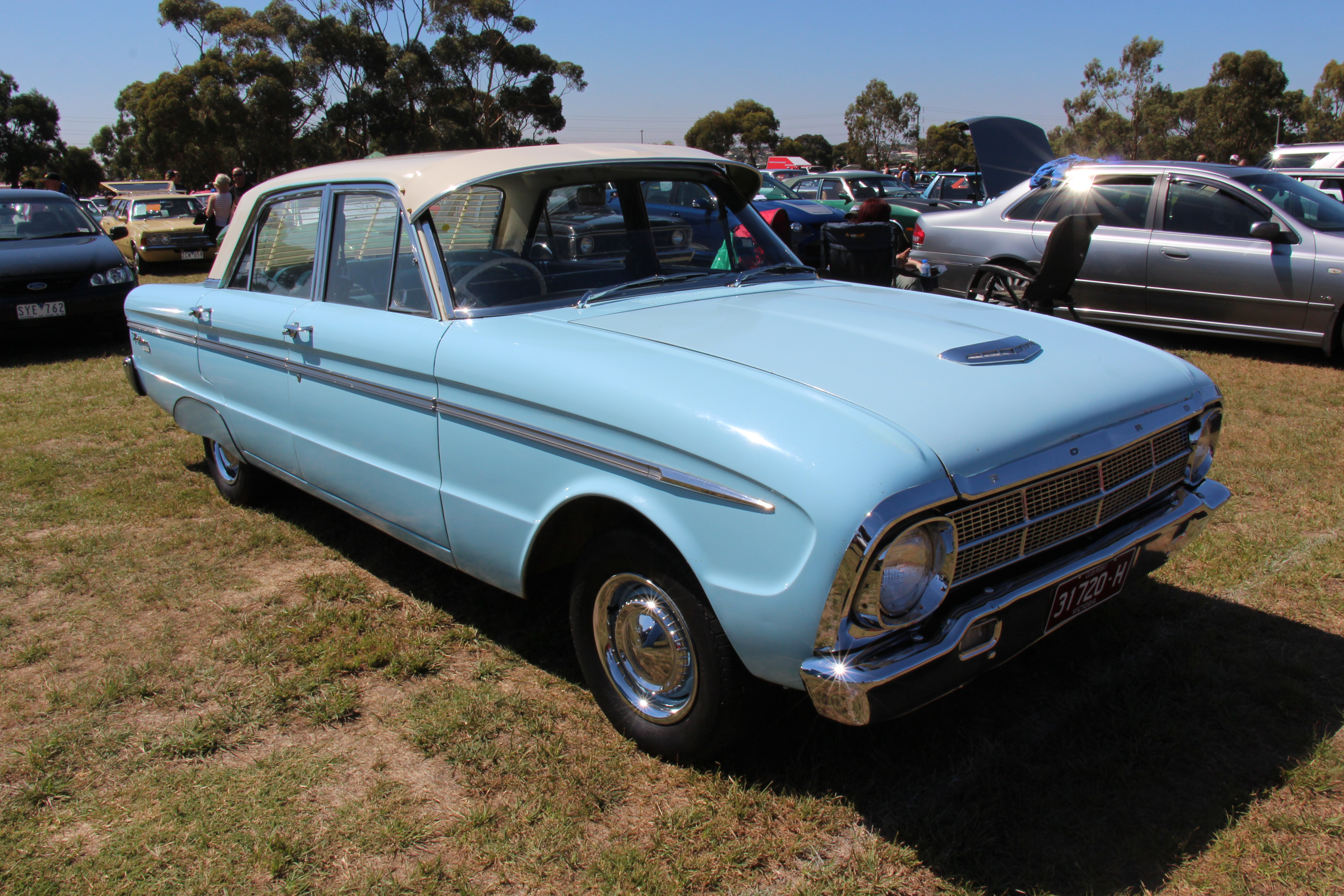 1964 ford falcon 4 door find used 1964 ford falcon 4 door 170 special - File 1964 Ford Falcon Xm Deluxe Sedan 16110886233 Jpg