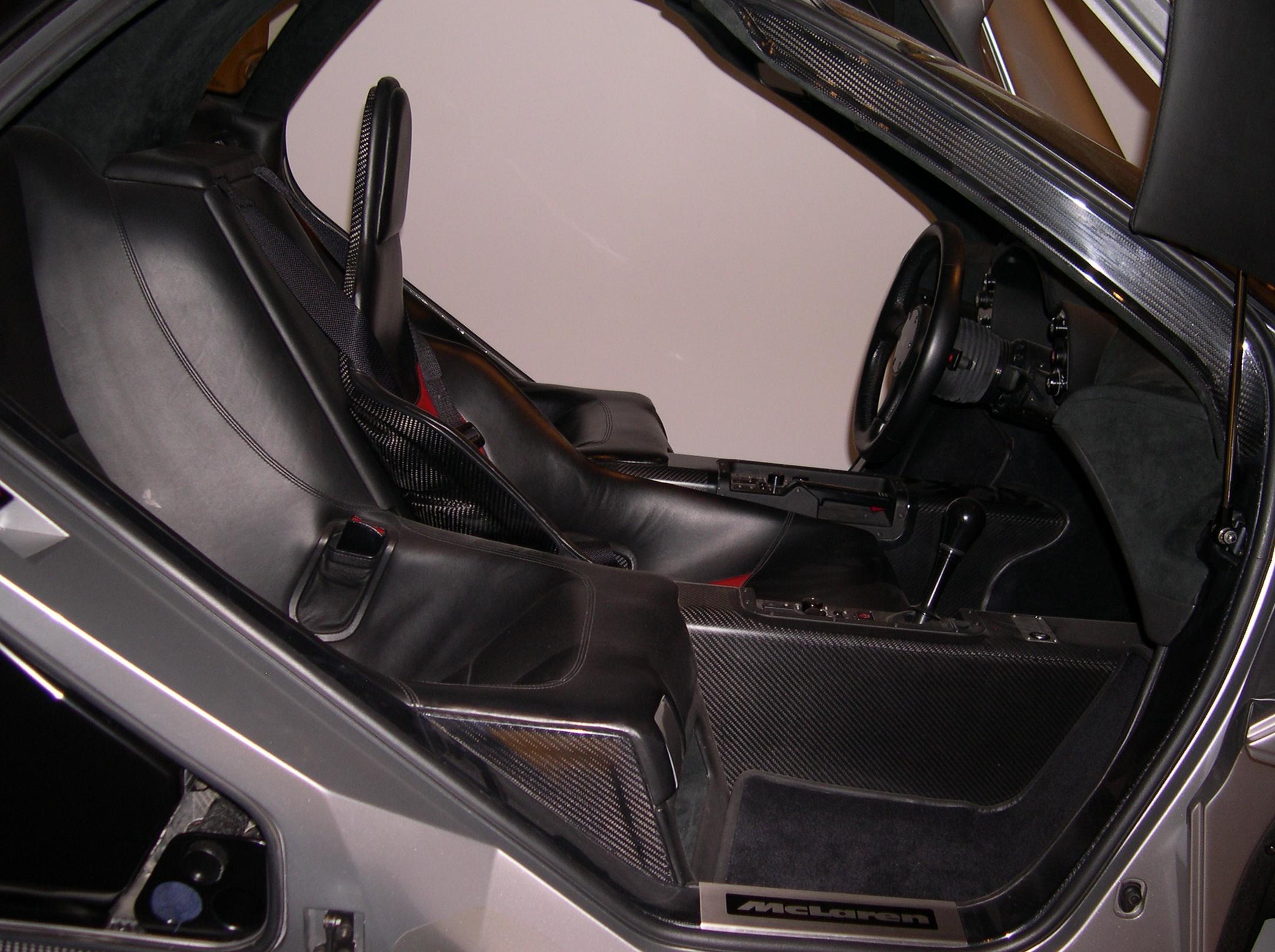 File:1996 McLaren F1 Interior