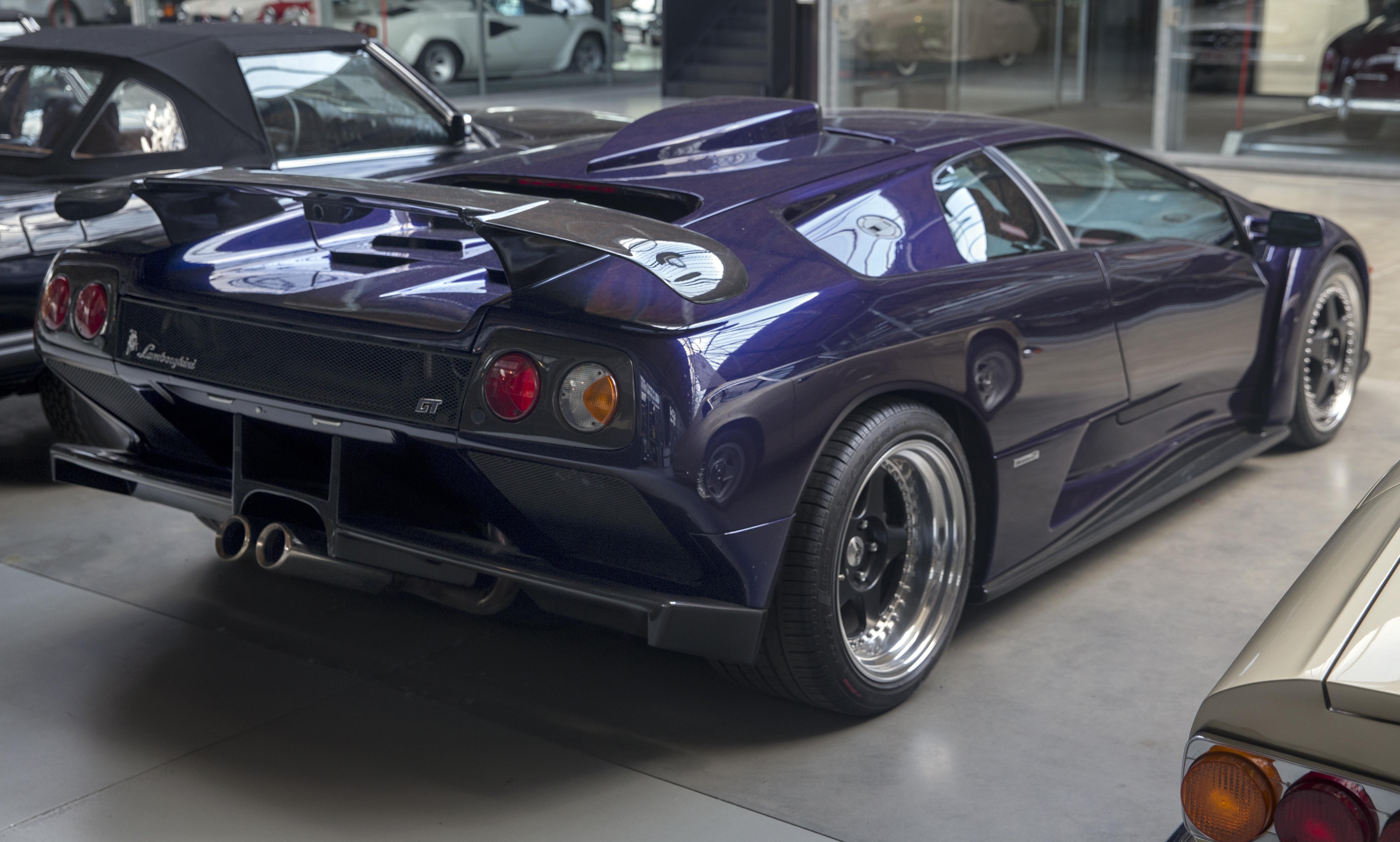 File 2000 Lamborghini Diablo Gt No43 Rear Right Jpg Wikimedia Commons