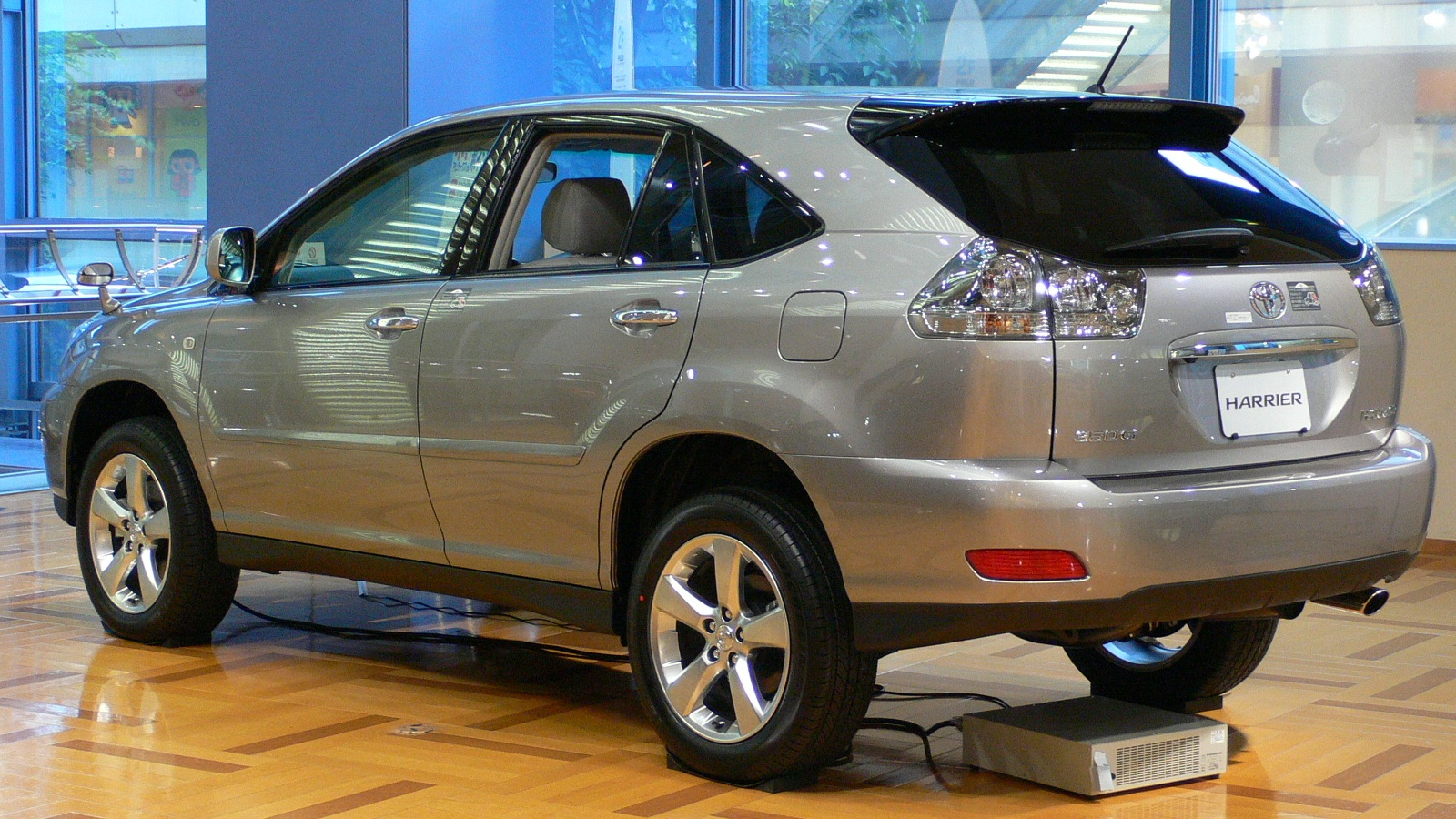 Toyota Harrier Car Images