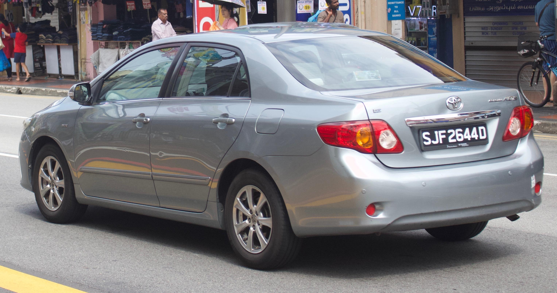 Kelebihan Toyota Altis 2010 Spesifikasi