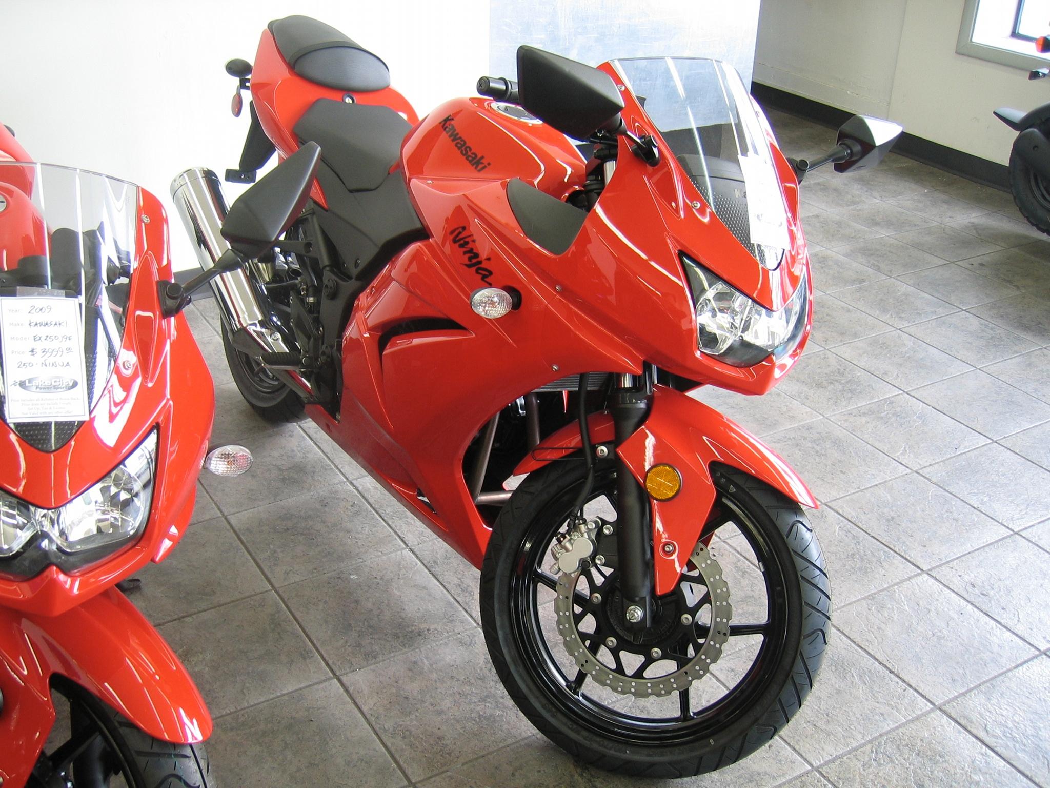 File:2009 Kawasaki Ninja 250R EX250-J 02.JPG - Wikimedia Commons