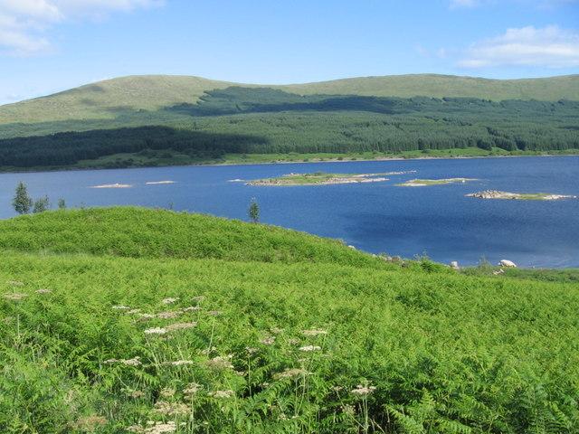 Across Loch Doon to Portmark - geograph.org.uk - 201751
