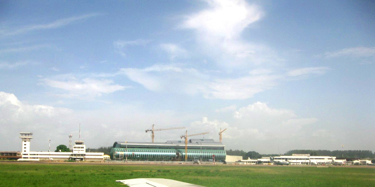 Maya-Maya Airport di Brazzaville.