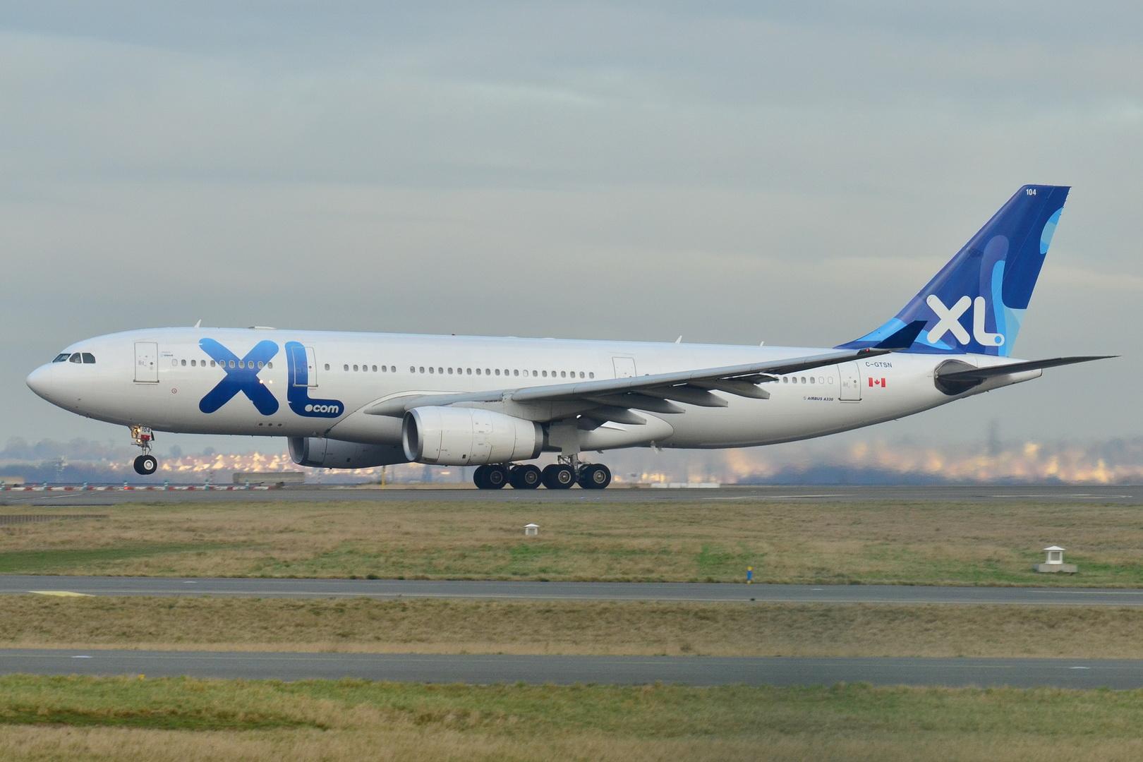 file airbus a330 200 xl aw xlf c gtsn msn 369 now return in air transat fleet 9272097388