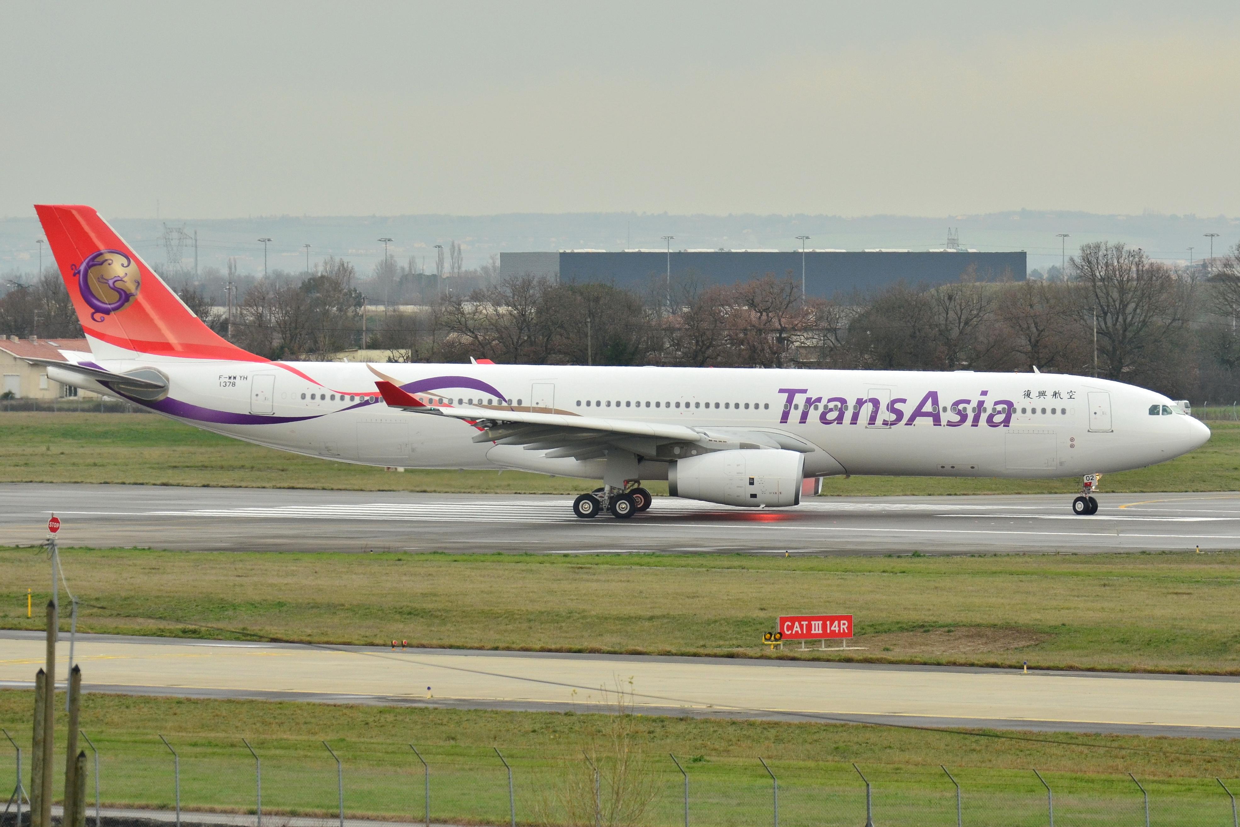 File:Airbus A330-300 (TransAsia Airways) - F-WWYH - MSN 1378.