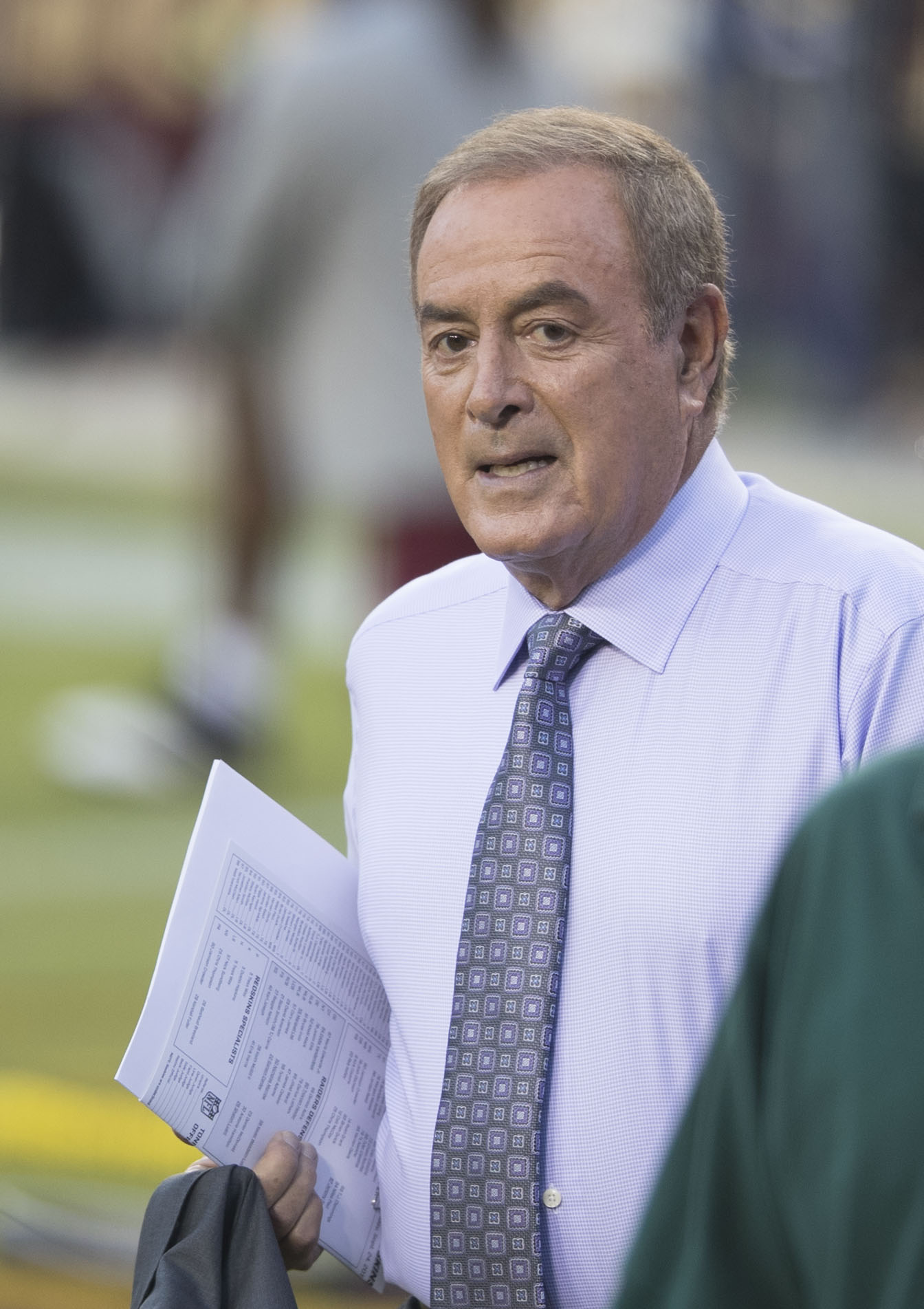 The 73-year old son of father James Michaels and mother Lila Michaels Al Michaels in 2018 photo. Al Michaels earned a  million dollar salary - leaving the net worth at 20 million in 2018