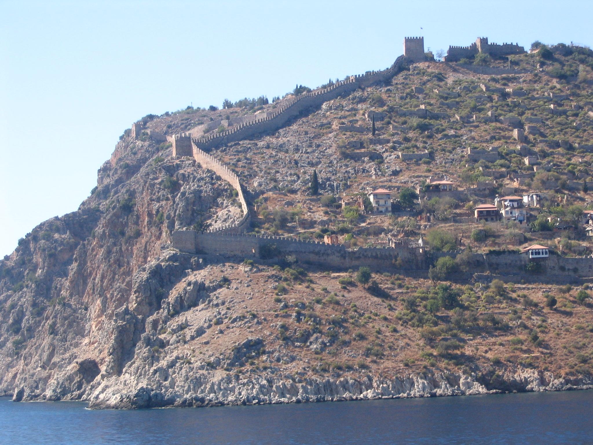File:Alanya wall.jpg - Wikimedia Commons