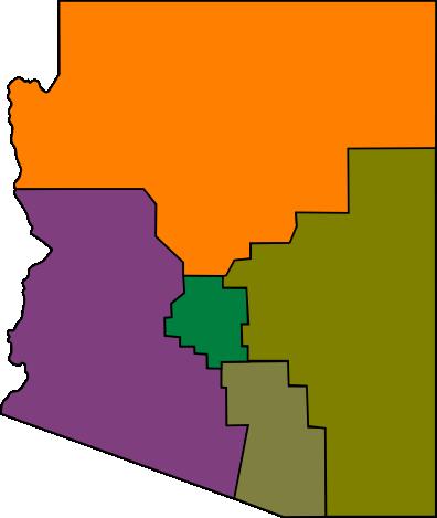 Map Of Arizona Regions.File Arizona Regions Map Png Wikimedia Commons