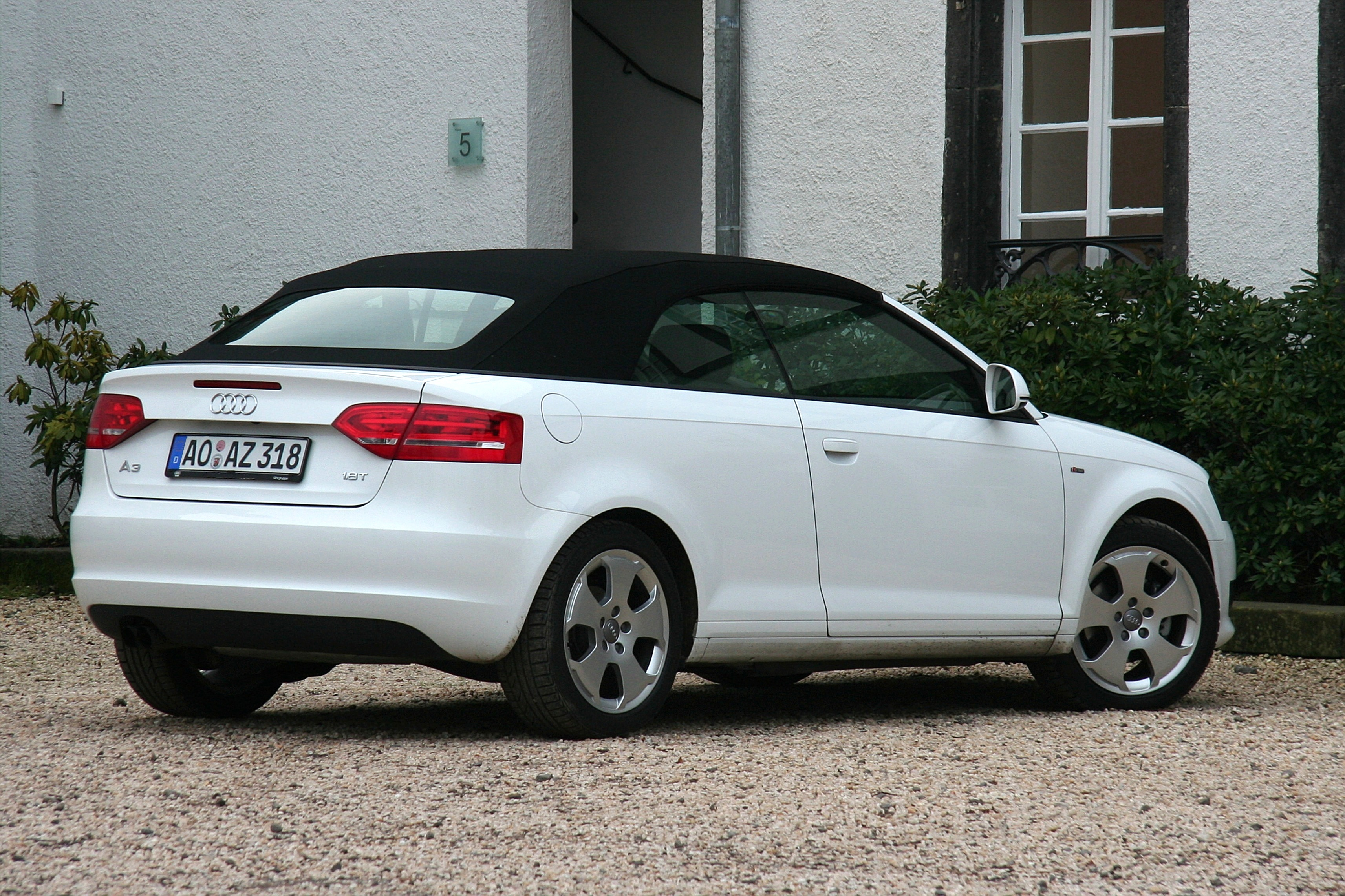 file audi a3 cabriolet heck bj 2008 2008 12 13 jpg wikimedia commons. Black Bedroom Furniture Sets. Home Design Ideas