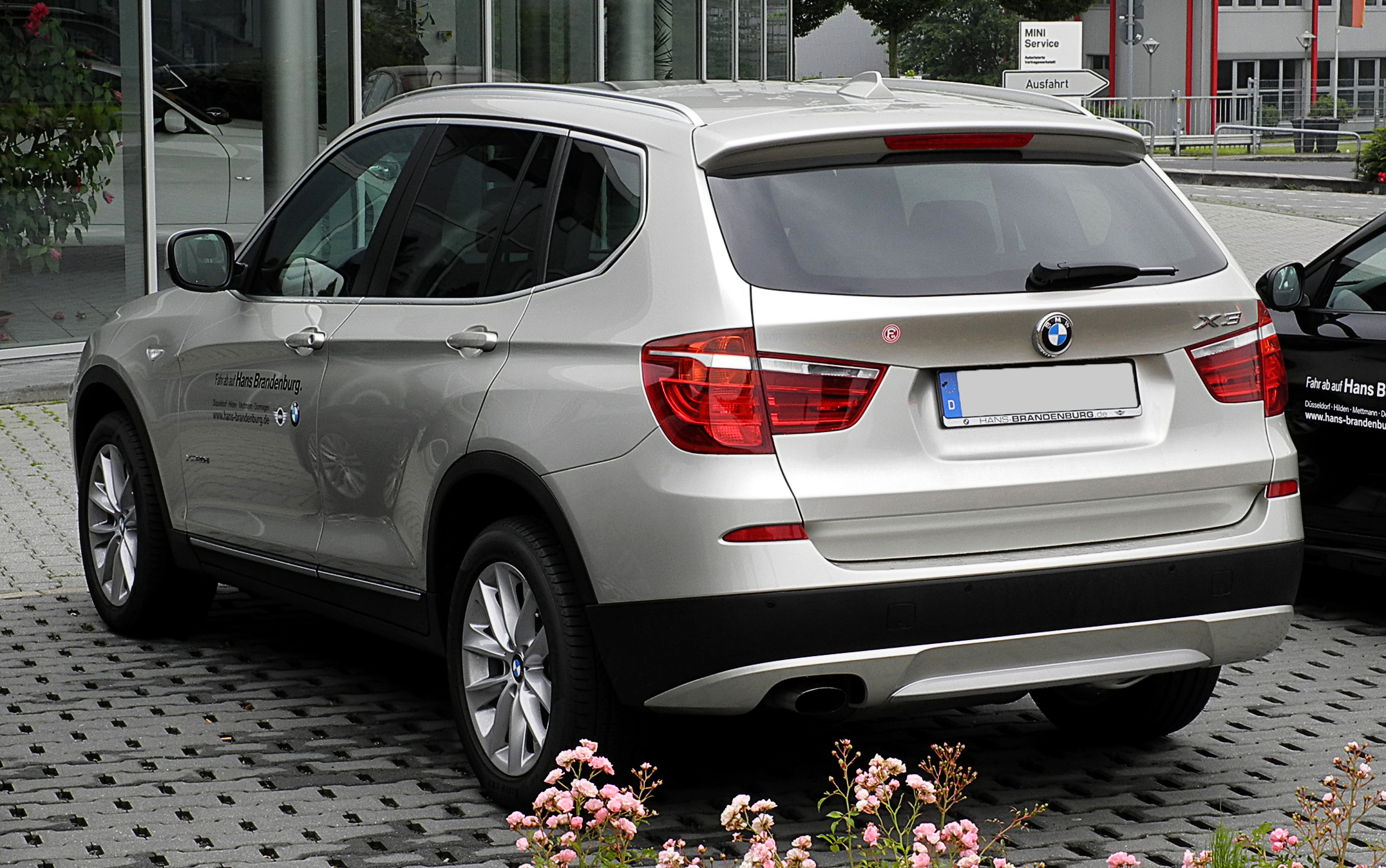 file bmw x3 xdrive20d f25 heckansicht 26 juni 2011 wikimedia commons. Black Bedroom Furniture Sets. Home Design Ideas