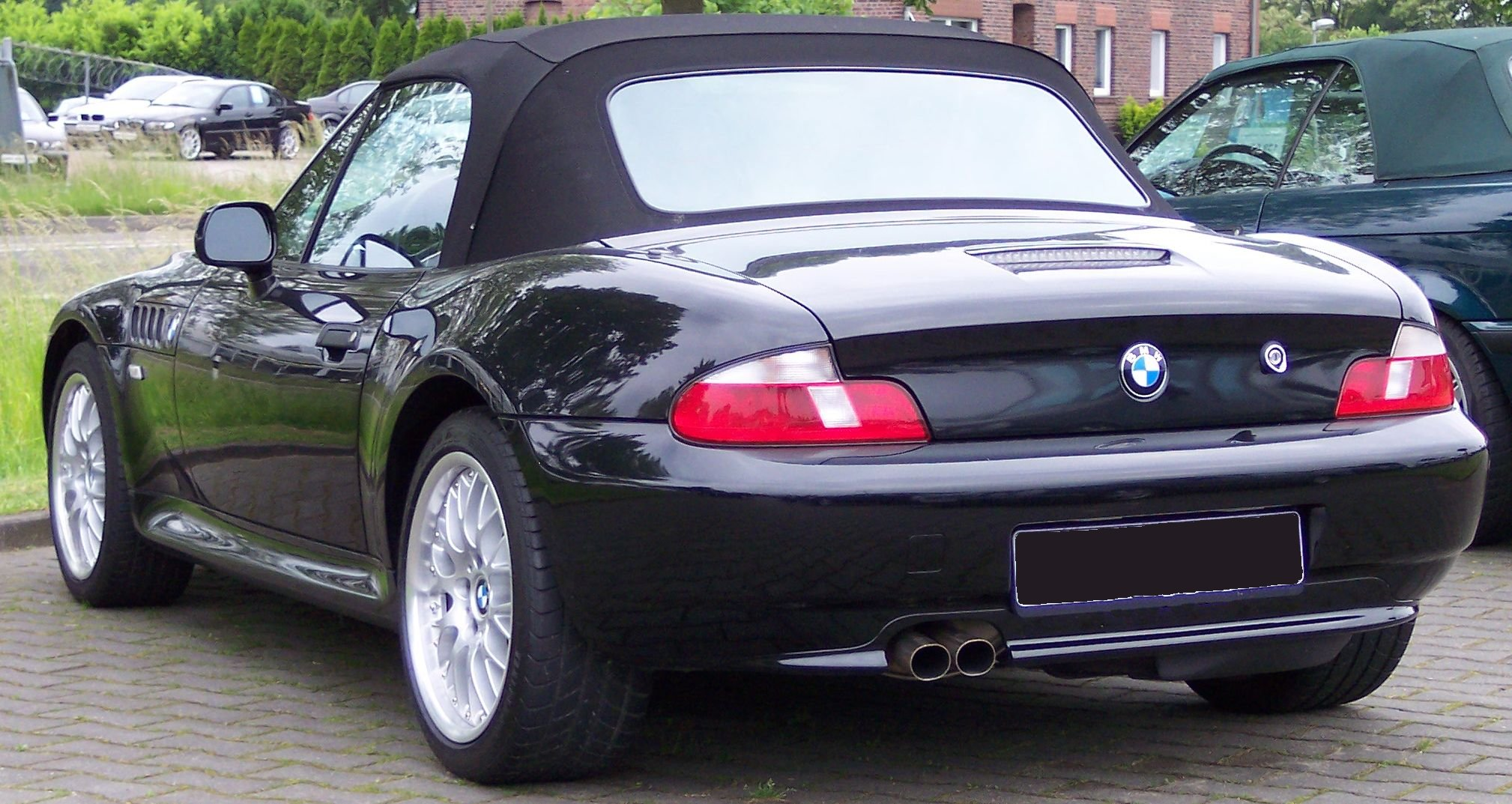 file bmw z3 black wikimedia commons. Black Bedroom Furniture Sets. Home Design Ideas