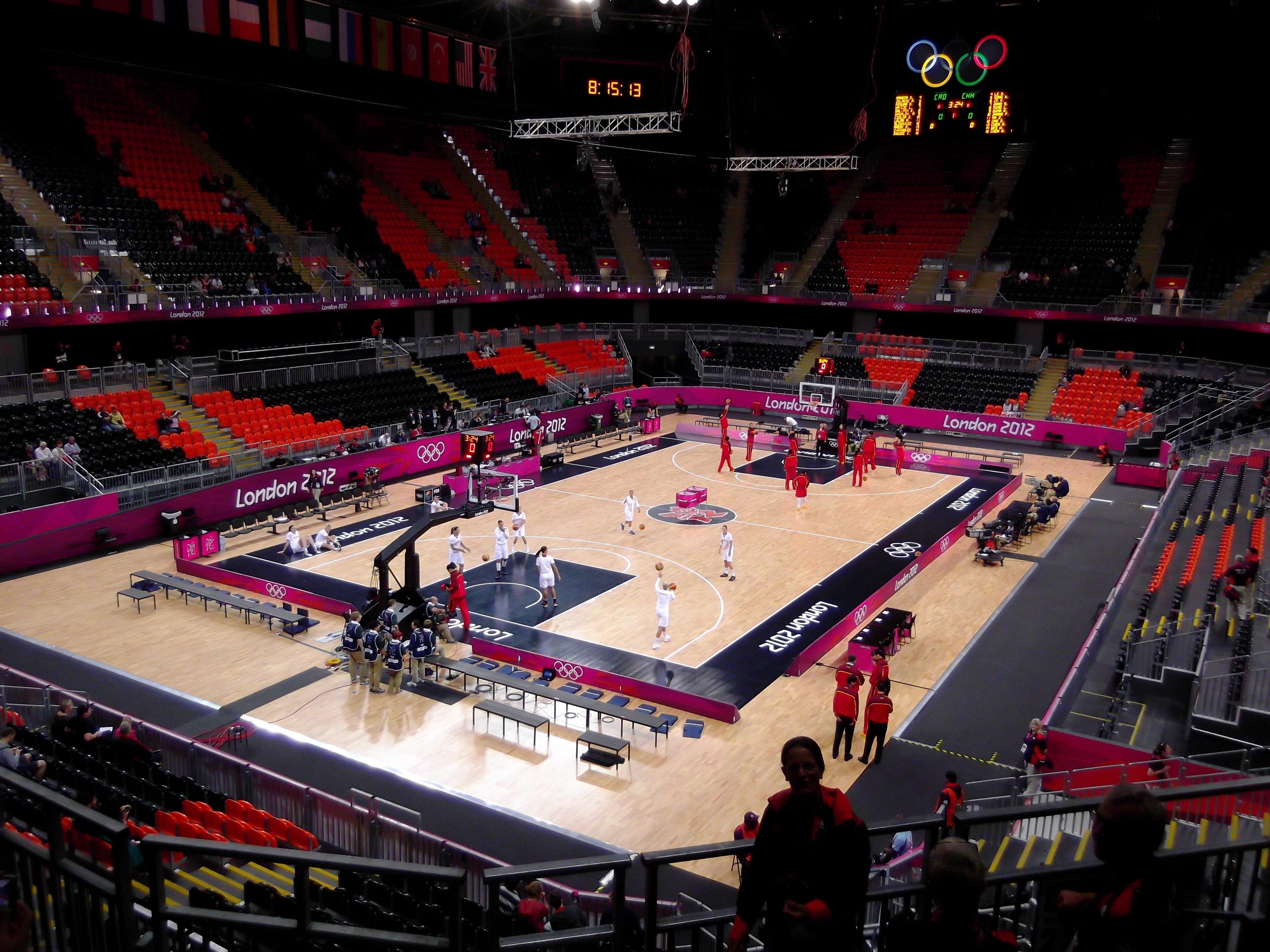 basketball arena london