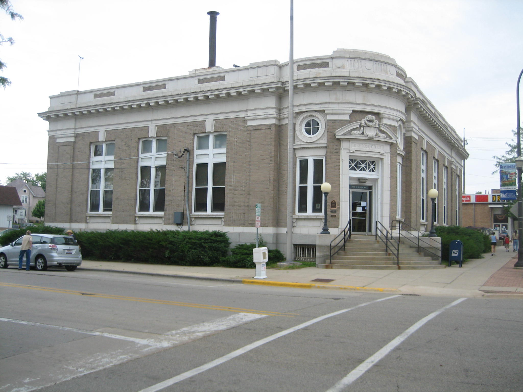 Belvidere (IL) United States  city pictures gallery : Belvidere IL United States Post Office1 Wikimedia Commons