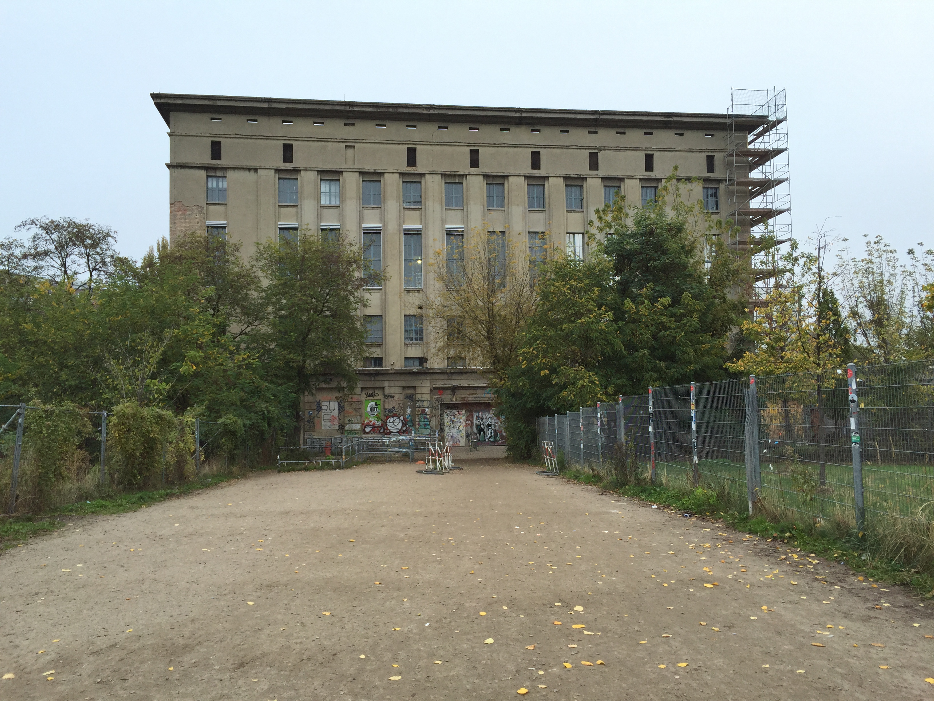 berghain, club, industrie