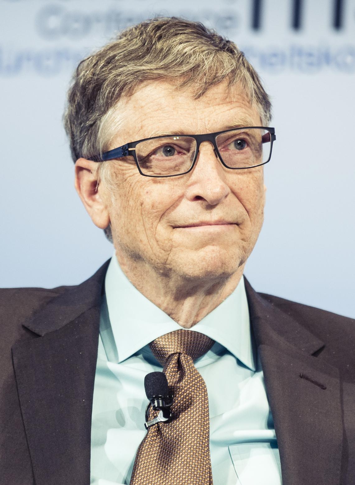 Er 65-år gammel 178 cm høj Bill Gates i 2021