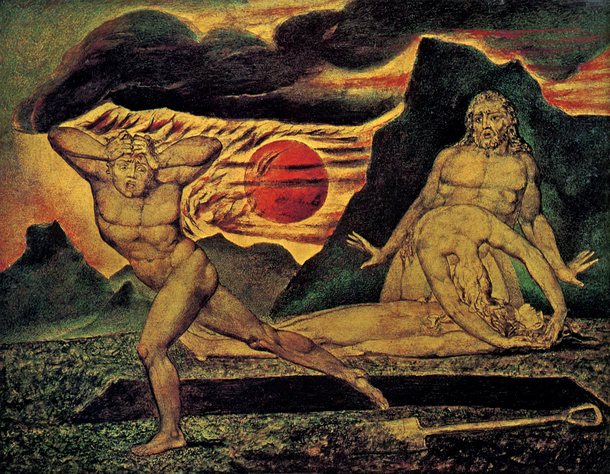 Algunas obras de William Blake