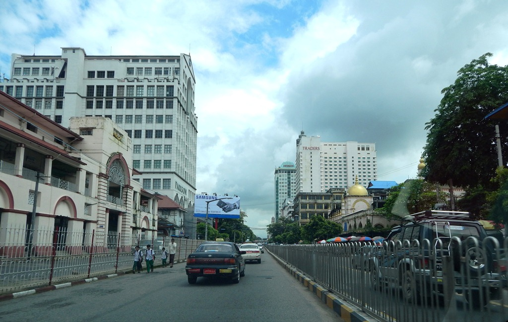ဗိုလ်ချုပ်အောင်ဆန်းလမ်း - ဝီကီပီးဒီးယား