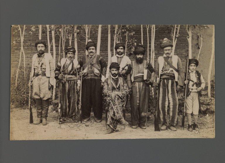 File:Brooklyn Museum - Kurdish Soldiers One of 274 Vintage Photographs.jpg