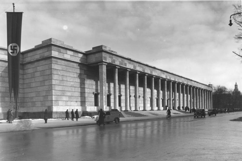File bundesarchiv bild 146 1990 073 26 m nchen haus der deutschen wikimedia commons - Deutsche architektur ...