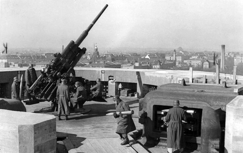 Image result for berlin anti aircraft guns