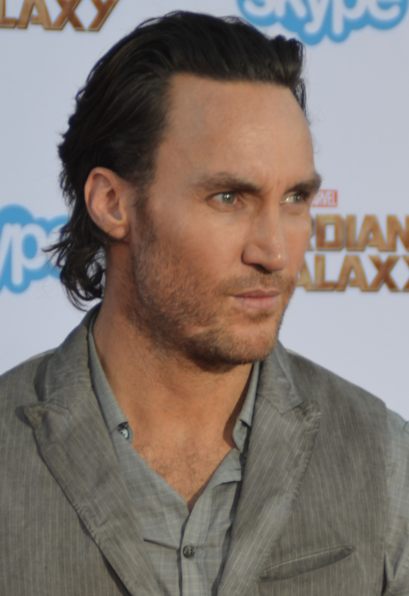 Mulvey at the ''Guardians of the Galaxy'' premiere in July 2014