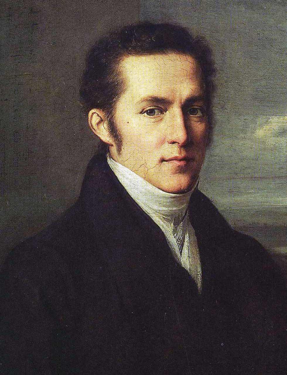 Carl Gustav Carus by Johann Carl Rössler