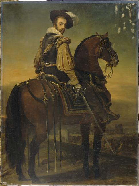 Portrait équestre du maréchal de Cossé-Brissac