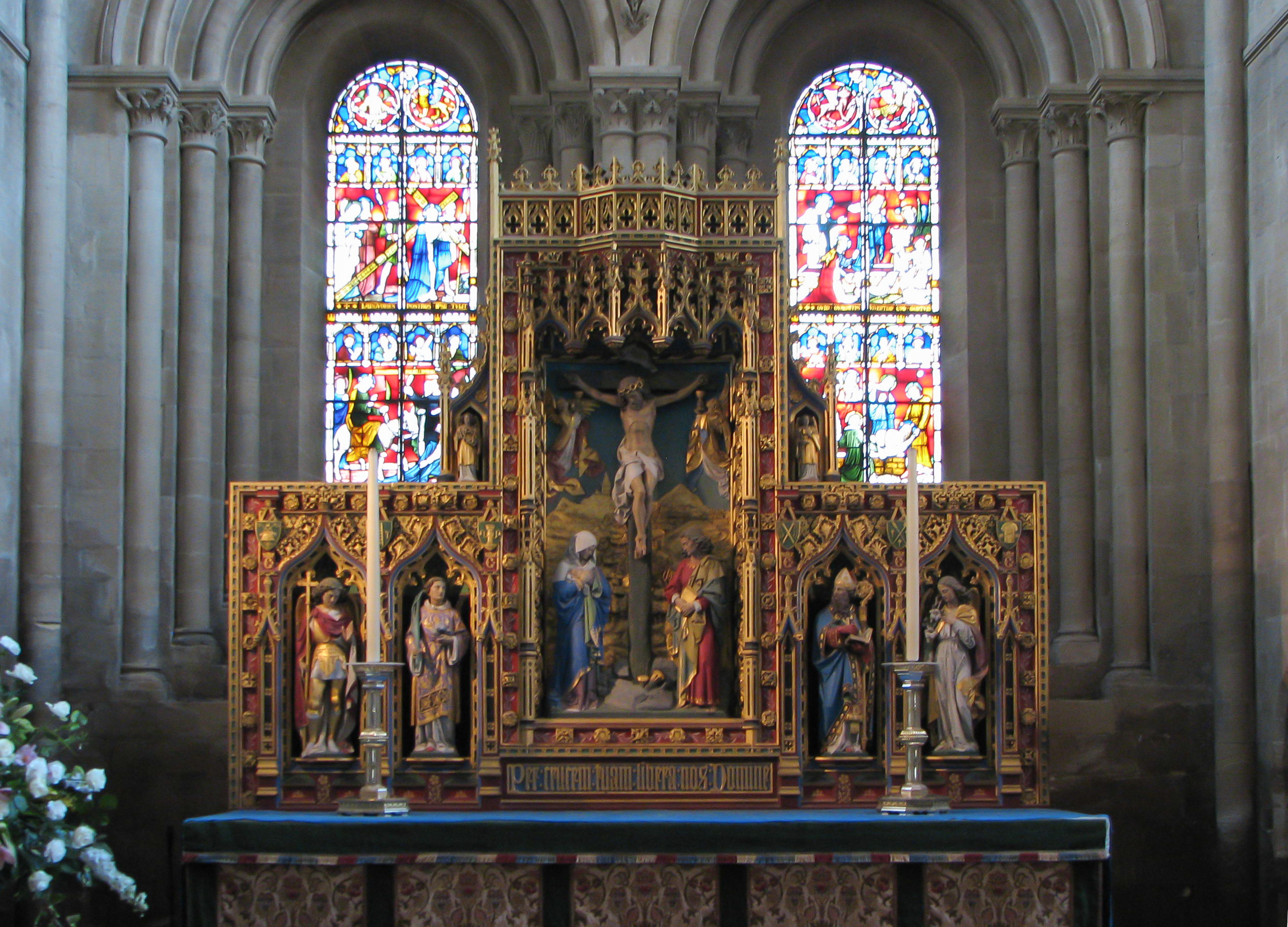 Exceptional History Church Of Christ #1: Christ_Church_Cathedral_altar.jpg