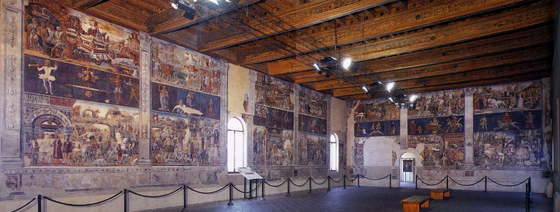 Cosmè Tura - View of the Salone dei Mesi - WGA23124.jpg