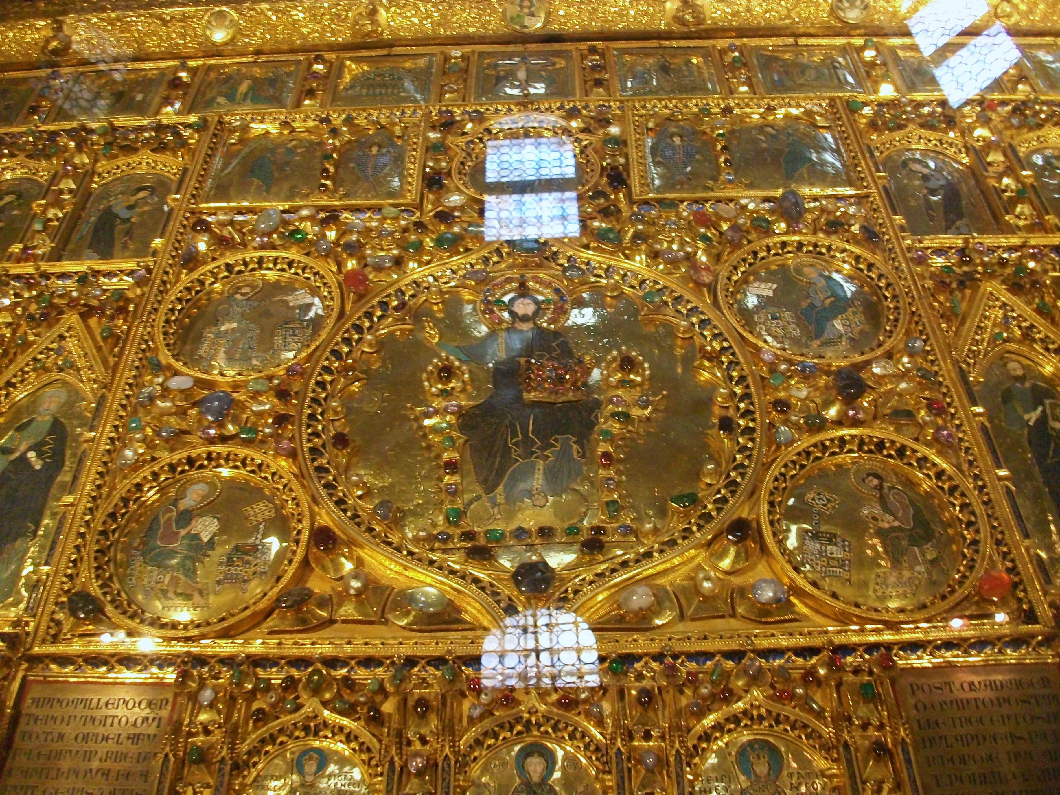 Archivo:Detail de la Pala d\'Oro, Basílica de Sant Marco, Venezia.jpg ...