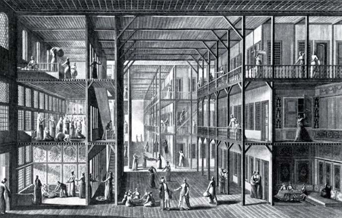 Interior of a Harem