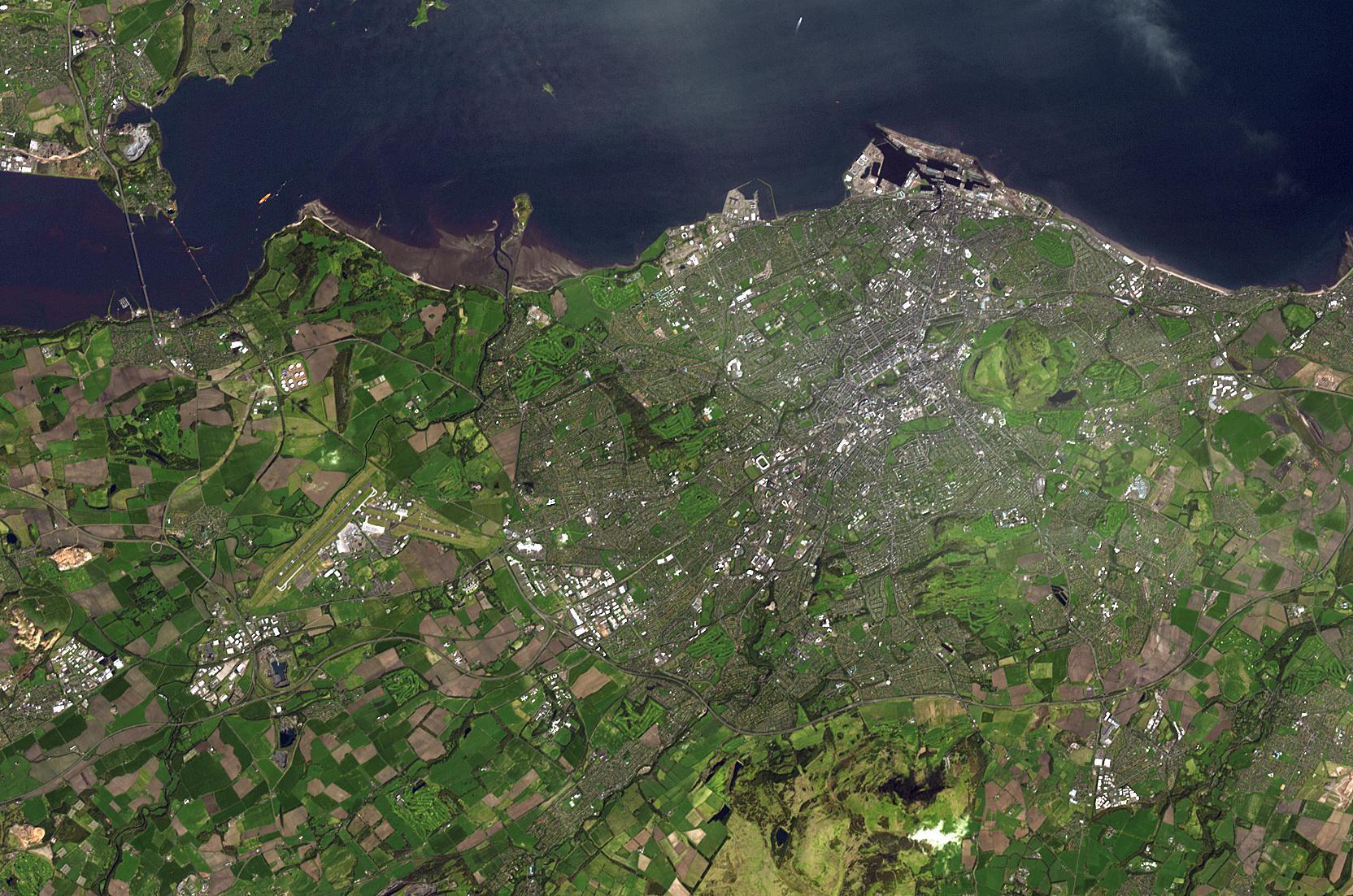 FileEdinburgh Observed By ASTER On Terra Satellitejpg - Us map aster