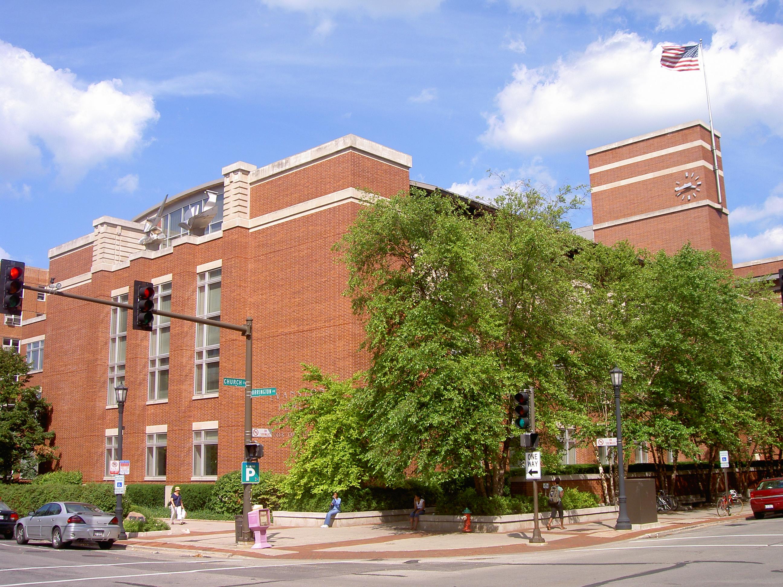 Evanston public library main branch
