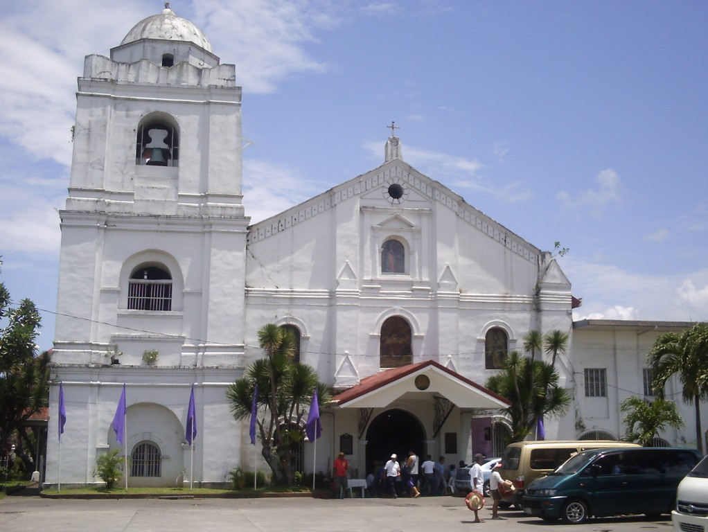 Facade of Pagsanjan Church.jpg