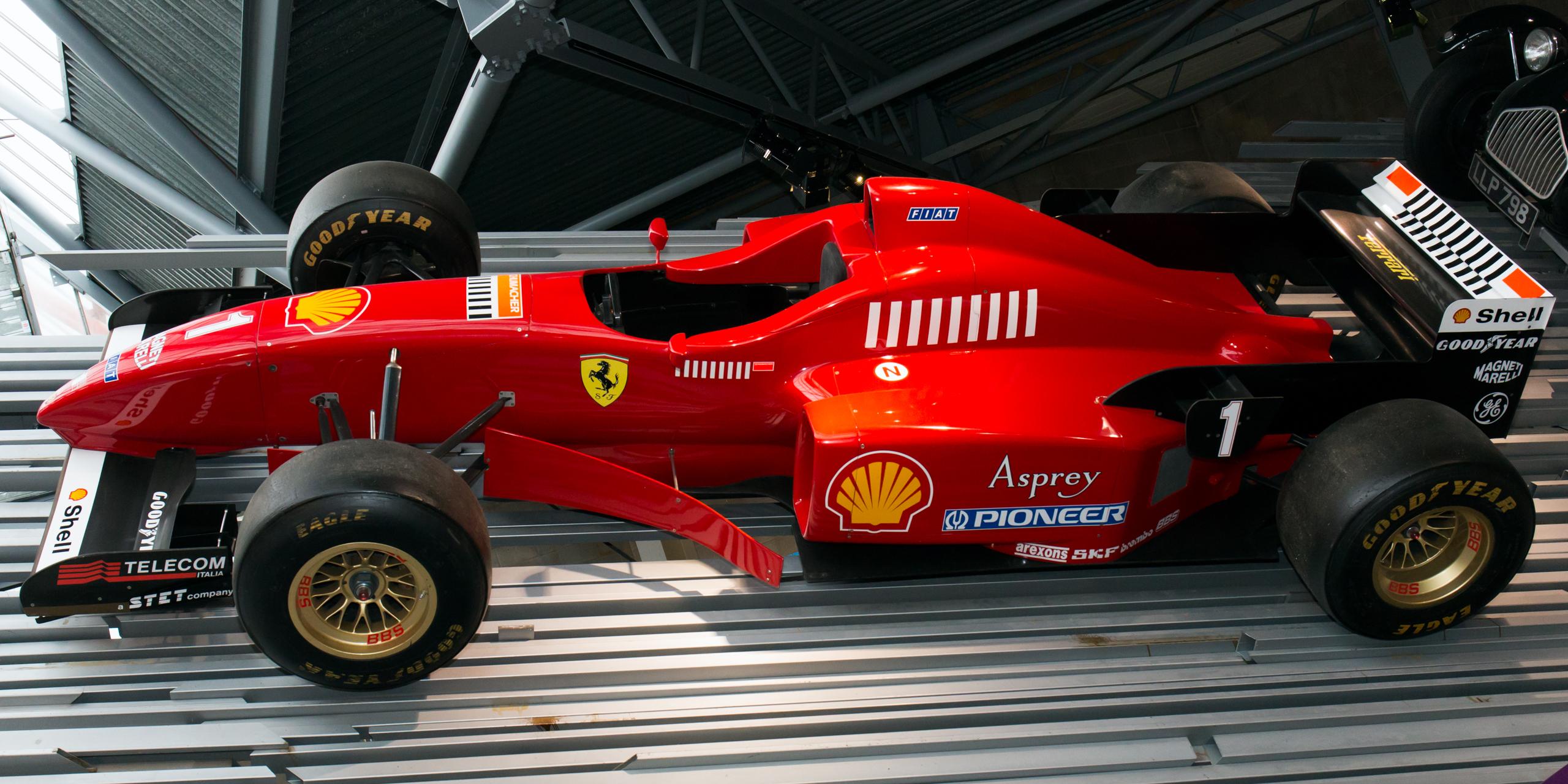 File Ferrari F310 Left National Motor Museum