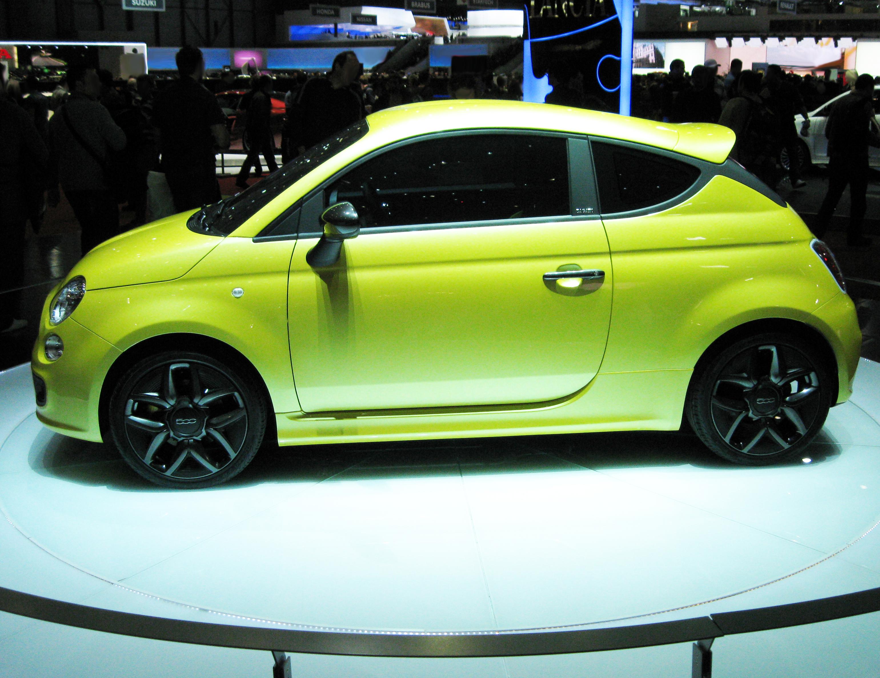 Lampadina Luci Diurne Fiat 500 : File:fiat 500 coupé zagato 2011 profilo.png wikipedia