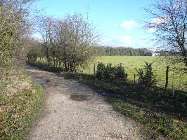Field View from Daneshill Lakes Footpath - geograph.org.uk - 673690