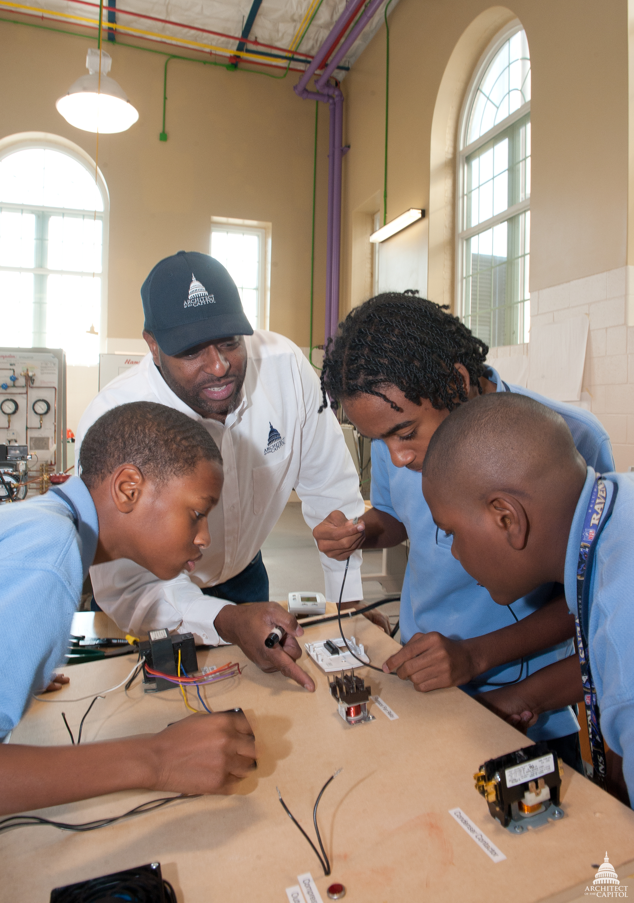 File:Flickr - USCapitol - AOC Employee teaches high school ...