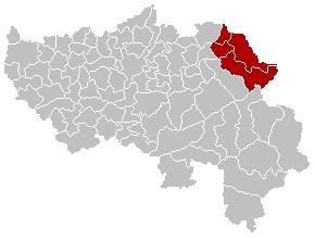 area in Belgium