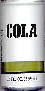 English: Generic brand cola can from Jewel Com...