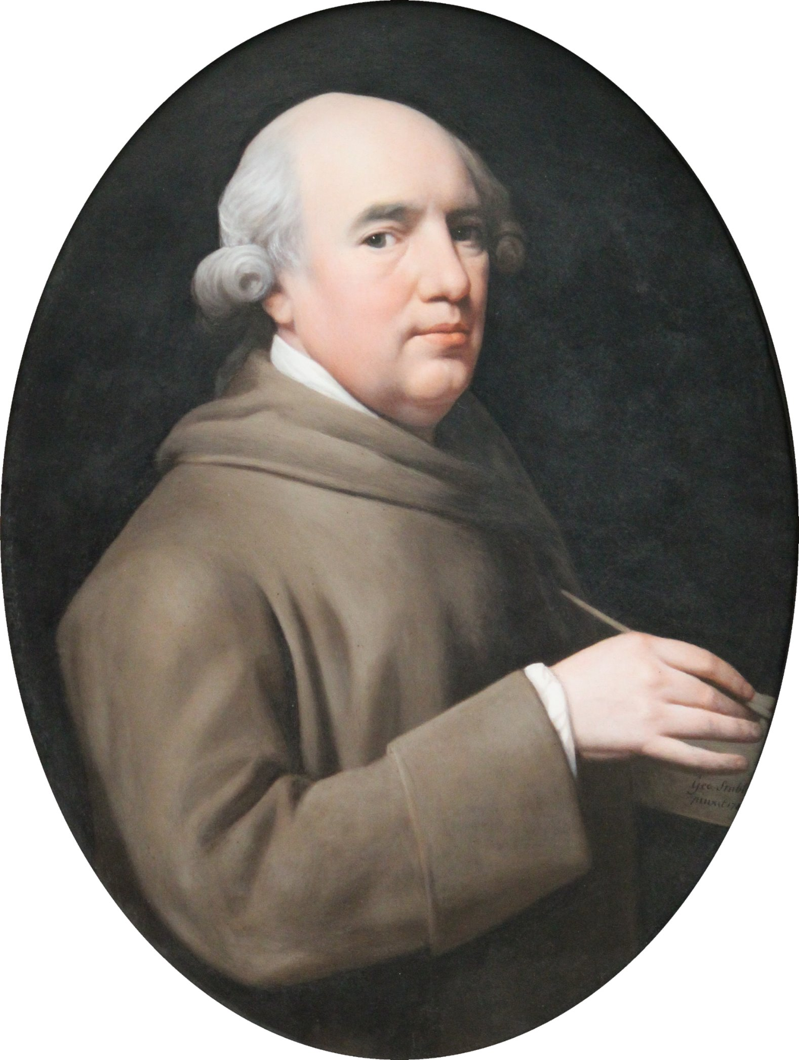 A self portrait by George Stubbs