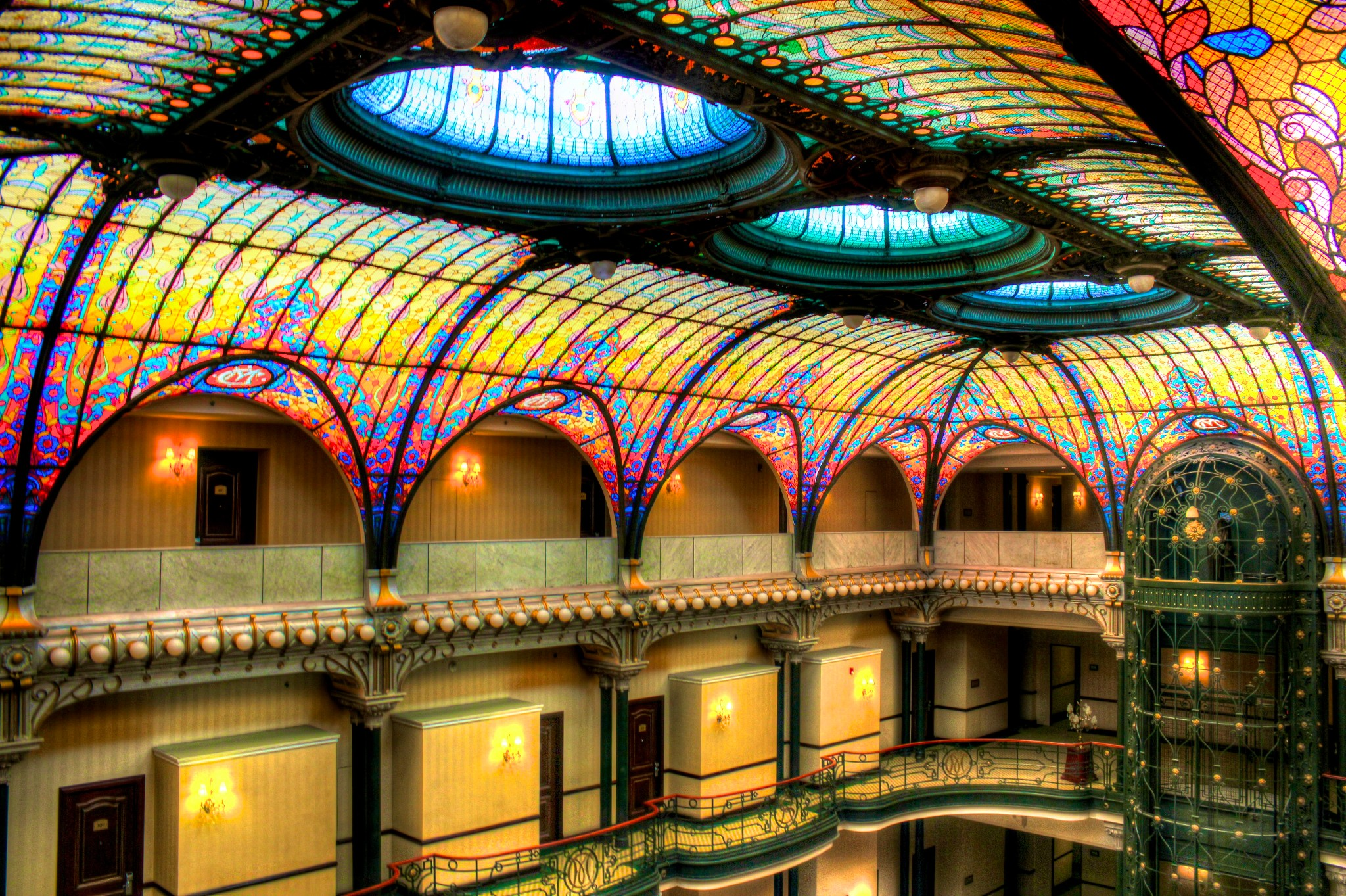 Image Result For Art Nouveau Stained