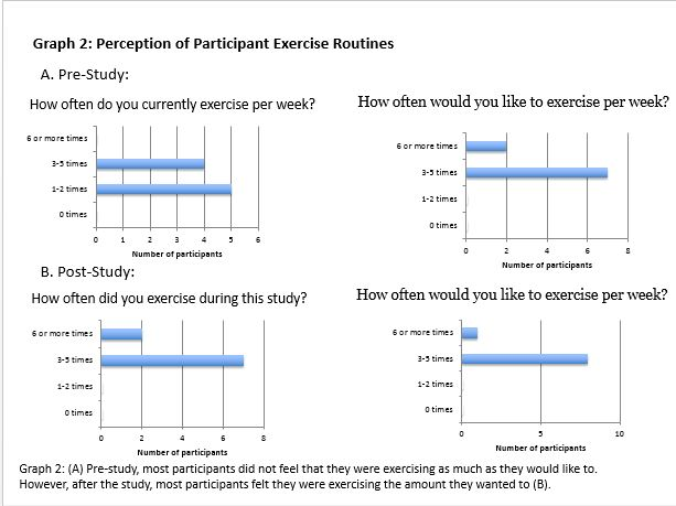 Perception of Participant Exercise Routines